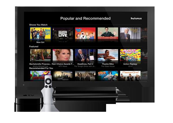 AppleTV with Hulu Plus