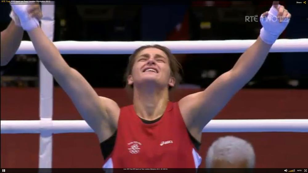 Katie Taylor wins gold in London Olympics 2012