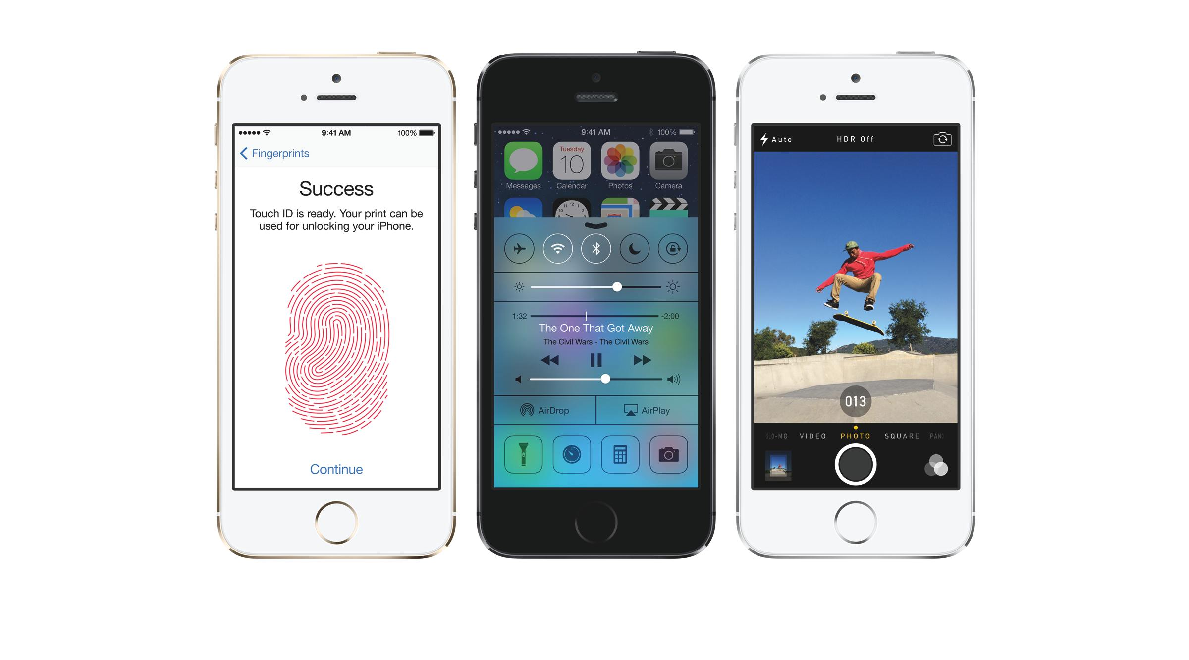 the new apple iphone 5s introduces touch id. Black Bedroom Furniture Sets. Home Design Ideas