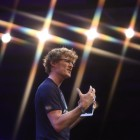Paddy Cosgrave on stage at Web summit. image: Web Summit / Sportsfile