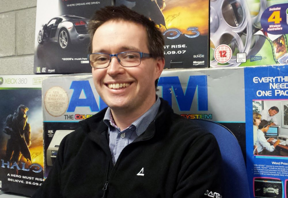 Dr. Liam Noonan, Lecturer at LIT's Game Design and Development degree in Thurles and Games Fleadh 2015 organiser