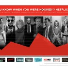Infographic - Netflix knows when you're Hooked