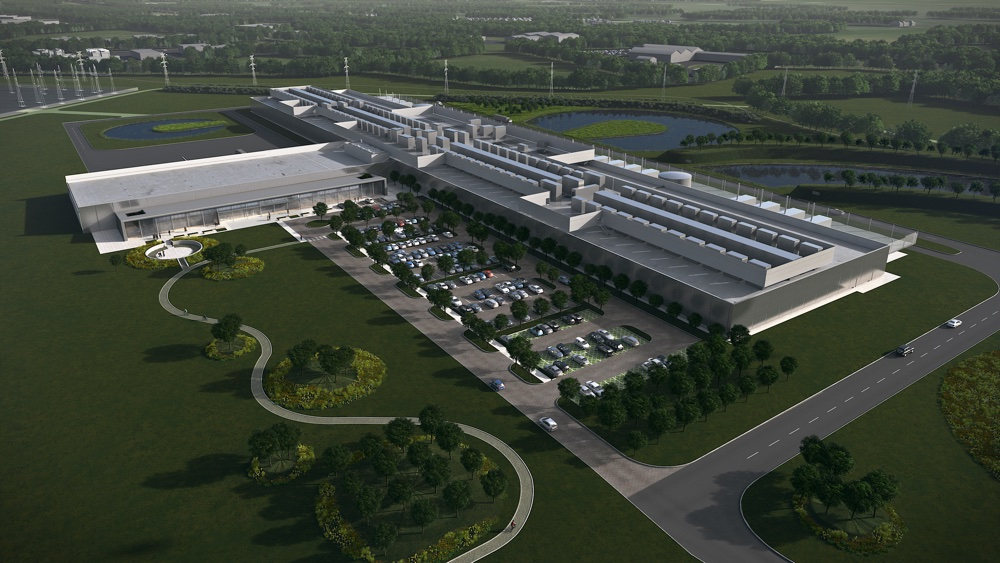 The planned Facebook data centre in Clonee, Co. Meath, Ireland