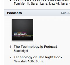 Number 1 in the iTunes Tech Chart