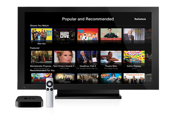 AppleTV with Hulu Plus