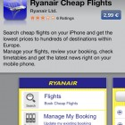 Ryanair want to charge €2.99 for their mobile app