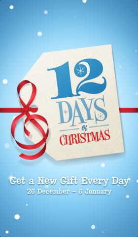 Apple's 12 days of Christmas app