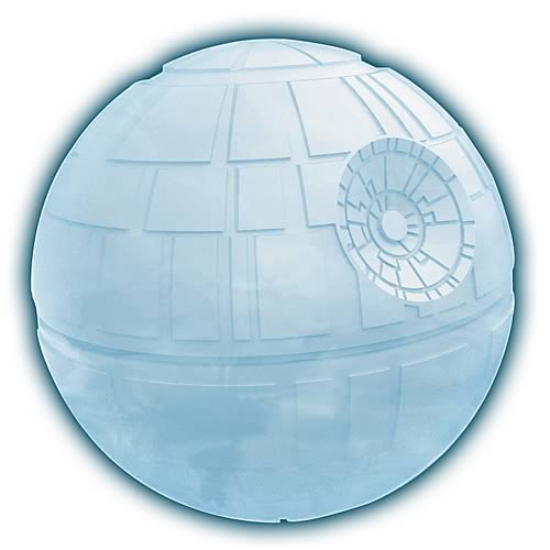Star Wars death star ice cube tray mould