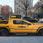 Delorean taxi NYC