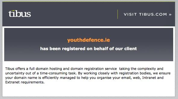 youthdefence-holding-page-tibus