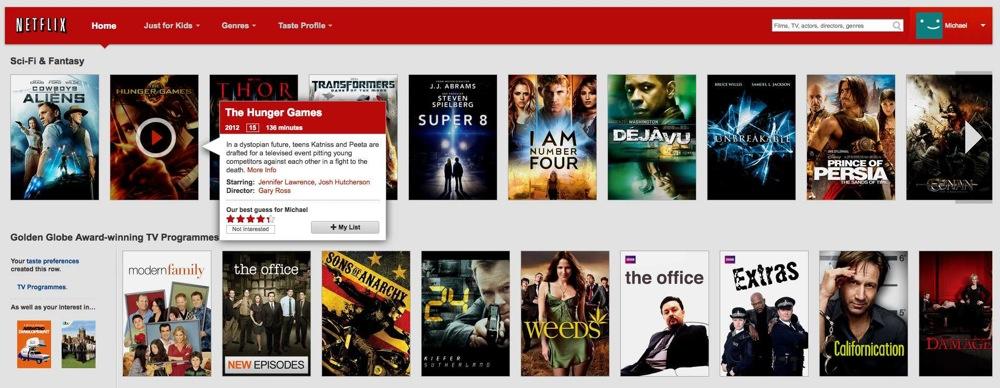 Netflix Adds Wishlist Feature