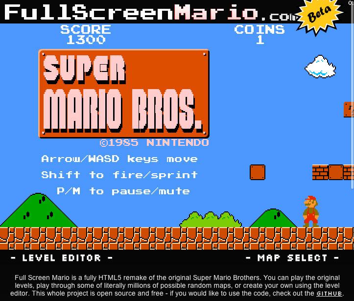 Super Mario Bros  online you say