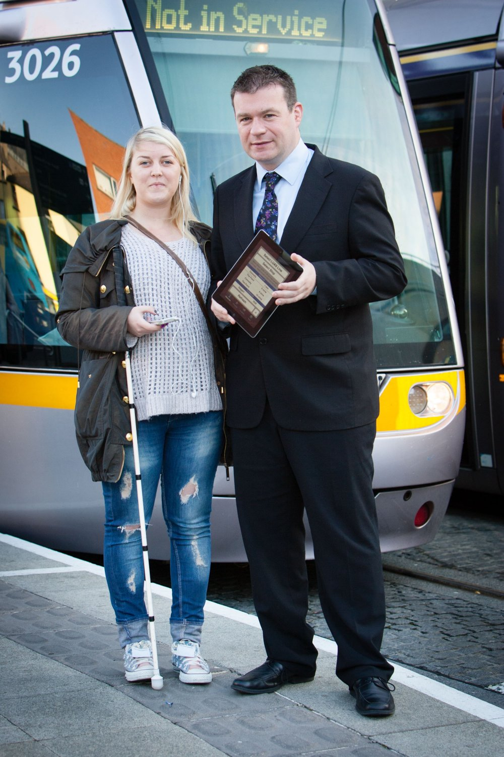 Claire Shorten from Ballinteer and Minister of State Alan Kelly TD