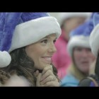 Video thumbnail for youtube video Budget Airline Brings Christmas To Passengers