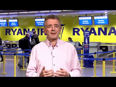 Video thumbnail for youtube video Ryanair Take to the Airwaves