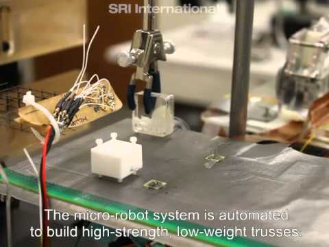 Video thumbnail for youtube video Creepy Crawly Micro-Robots Swarm and Build [Video]