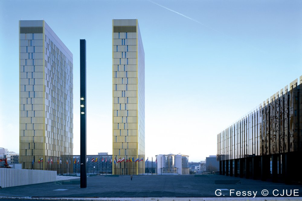 The Court of Justice of the European Union, Luxembourg