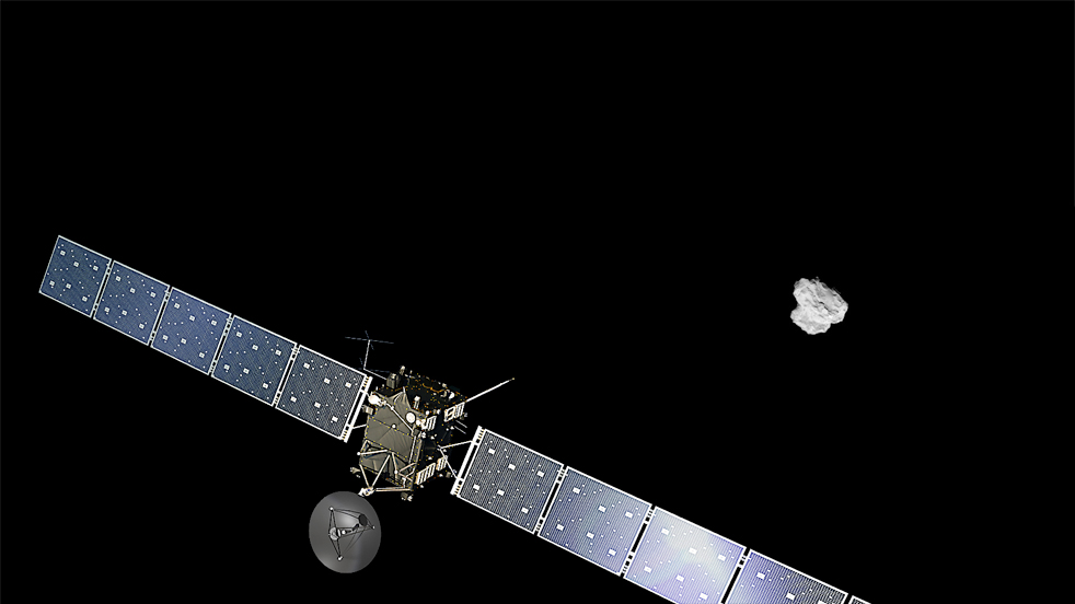 Rosetta arrives at the comet