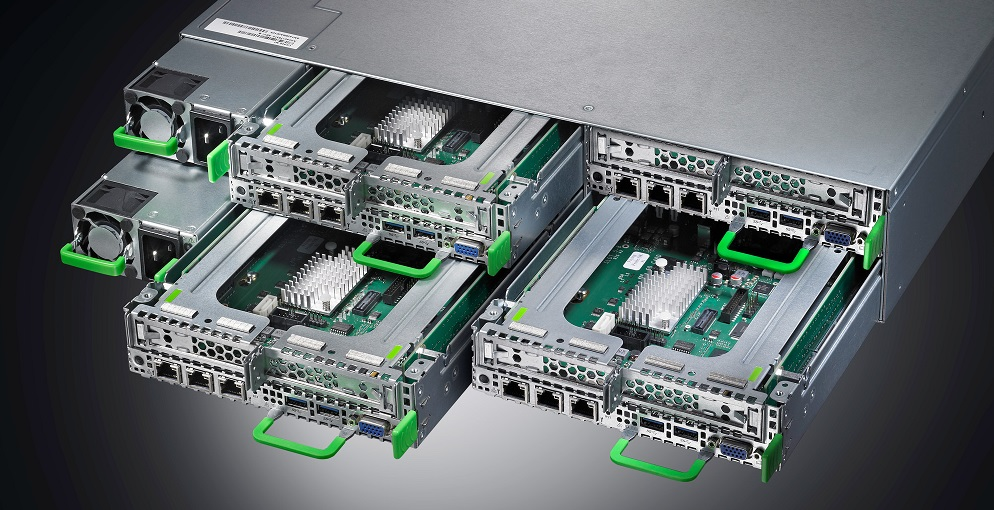 Fujitsu PRIMERGY CX400 M1 scale-out infrastructure