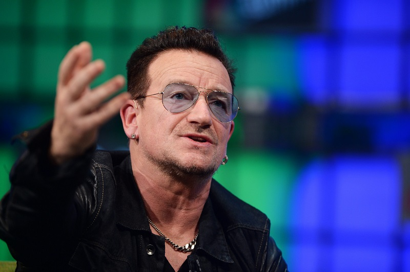 Bono on stage at Web Summit. Image : Web Summit / Sportsfile
