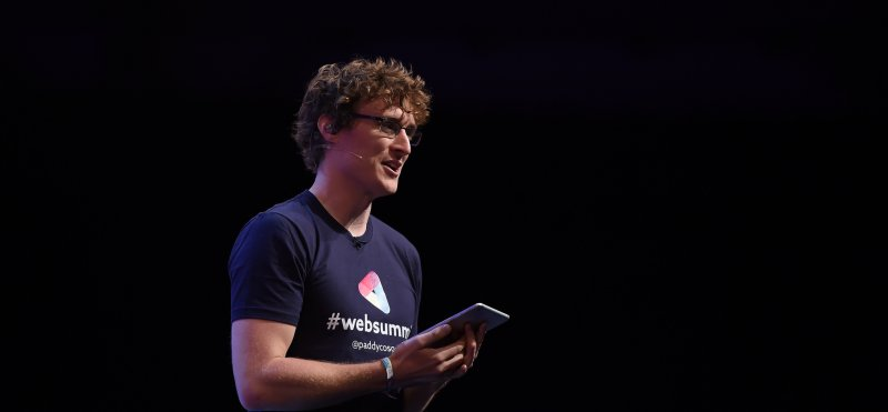 Web Summit Founder Paddy Cosgrave opens the 2014 Summit. Image: CC-BY Web Summit