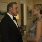 "Kevin Spacey and Robin Wright in Season 3 of Netflix's ""House of Cards."" Photo credit: David Giesbrecht for Netflix"