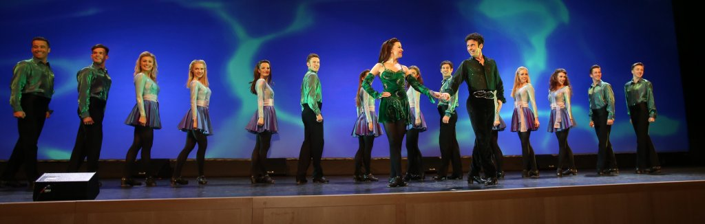 Delegates to ICANN54 were entertqained by Riverdance at the Convention Centre Dublin this morning