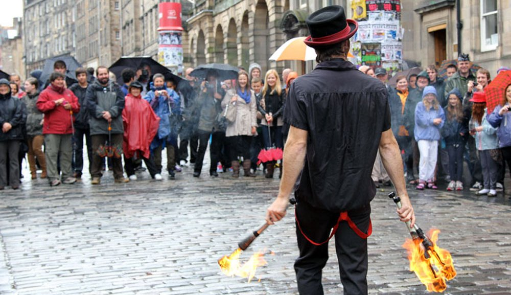 Performer, Edinburgh