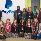 Pictured in PayPal's Ballycoolin office at the 'Young Women in Technology' workshop are female transition year students from Luttrellstown Community College and Castleknock Community College