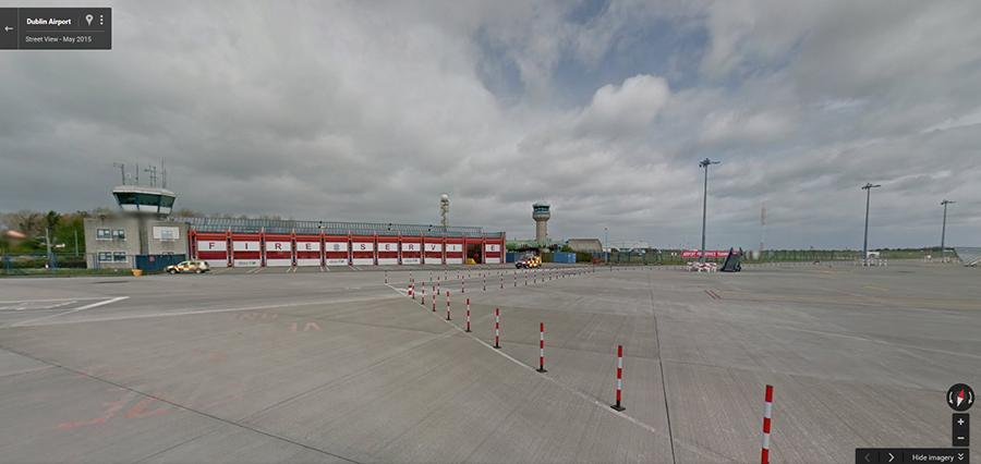 Dublin Airport Streetview