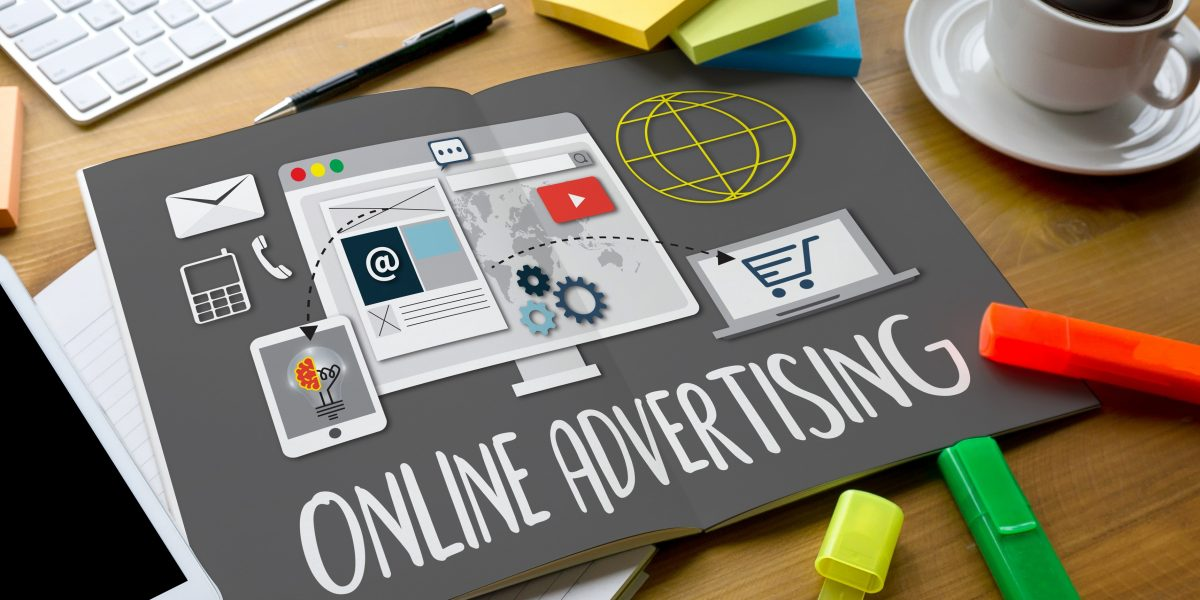 ONLINE ADVERTISING man working on laptop Online Advertising Website Marketing Update Trends Report News Online Advertising Online Marketing Business Content Strategy