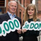 David Curtin, Chief Executive of IE Domain Registry pictured with Rasa Levinaite, owner of The Wicklow Street Clinic, Dublin. The Dublin-based clinic was announced as the 250,000th .ie domain registered in Ireland, www.thewicklowstreetclinic.ie. According to the latest IE Domain Registry .ie Domain Profile Report, 28,126 .ie domains were registered between January and the end of June 2018 (H1 2018).